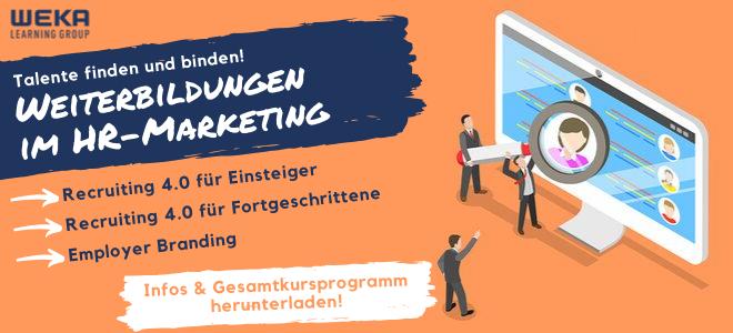 Weiterbildungen im HR-Marketing