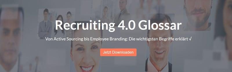 Recruiting 4.0 Glossar