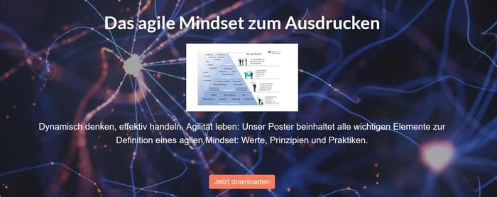 Agiles Mindset Infografik