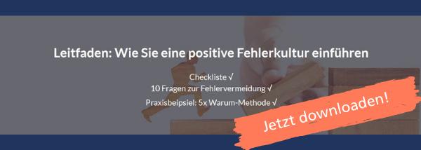 DL positive Fehlerkultur einführen