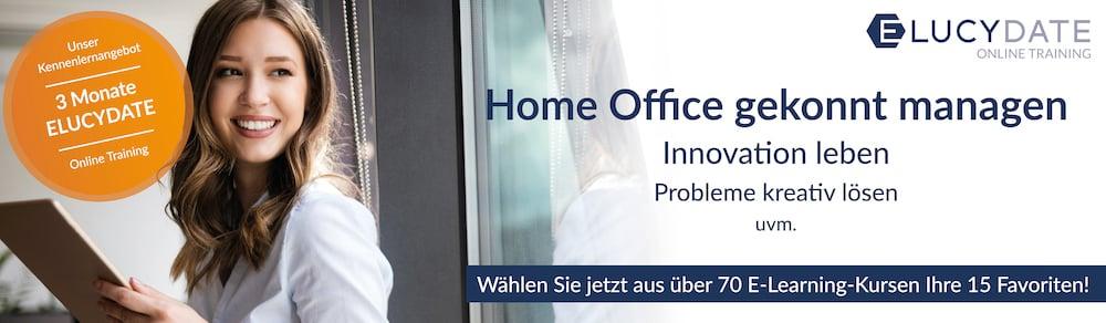 Home Office gekonnt managen